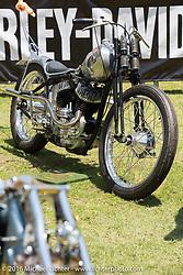BF8 Invited builder Matt Machine's Machine Shed Harley-Davidson WLA custom from Australia at the Born Free Motorcycle Show-8 at Oak Canyon Ranch. Silverado, CA, USA. Saturday June 25, 2016.  Photography ©2016 Michael Lichter.