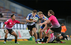 Huw Jones of Western Province breaks through the gap during the Currie Cup Premier Division match between the DHL Western Province and the Pumas held at the DHL Newlands rugby stadium in Cape Town, South Africa on the 17th September  2016<br /> <br /> Photo by: Shaun Roy / RealTime Images