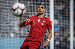March 22, 2019 - Na - Lisbon, 03/22/2019 - The Portuguese Football Team received its Ukrainian counterpart at the Estádio da Luz in Lisbon this afternoon to play in Group B in the European 2020 Qualifying Round. André Silva  (Credit Image: © Atlantico Press via ZUMA Wire)