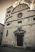 St. Mary's Church, Old Town Zadar, Dalmatian Coast, Croatia