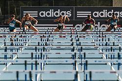 women's 100 Hurdles, Queen Harrison wins over Lolo Jones, Dawn Harper-Nelson, adidas Grand Prix Diamond League track and field meet