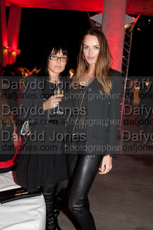 MOTHER AND DAUGHTER, VICTORIA MARKOVA; MASHA MARKOVA, Hosted by Interview Russia.  On behalf of Ferrari, Peter M. Brant and SothebyÕs Tobias Meyer party in honor of FerrariÕs Chairman, Luca di Montezemolo, 1111 Lincoln Road, the iconic car-park in the shopping mall designed by the Pritzker prize winning team Herzog & de Meuron.,  Miami Beach. 29 November 2011.<br /> MOTHER AND DAUGHTER, VICTORIA MARKOVA; MASHA MARKOVA, Hosted by Interview Russia.  On behalf of Ferrari, Peter M. Brant and Sotheby's Tobias Meyer party in honor of Ferrari's Chairman, Luca di Montezemolo, 1111 Lincoln Road, the iconic car-park in the shopping mall designed by the Pritzker prize winning team Herzog & de Meuron.,  Miami Beach. 29 November 2011.