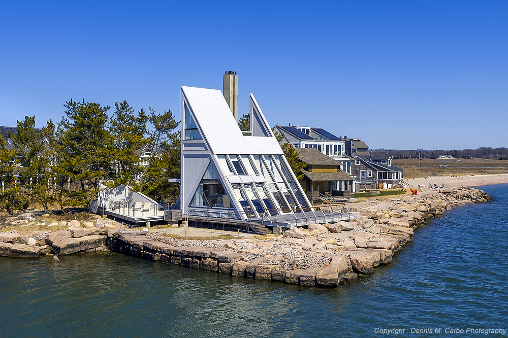 Sail House by Vincent Amore AIA - Guilford, CT
