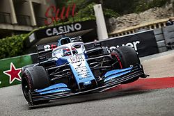May 23, 2019, Monte Carlo, Monaco: GEORGE RUSSELL (GBR, ROKiT Williams Racing) during practice for FIA Formula One World Championship 2019, Grand Prix of Monaco. (Credit Image: © Hoch Zwei via ZUMA Wire)