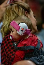 18-05-2019 GER: CEV CL Super Finals Zenit Kazan - Cucine Lube Civitanova, Berlin<br /> Civitanova win the Champions League by beating Zenit in four sets / support youth, child Osmany Juantorena Portuondo #5 of Cucine Lube Civitanova