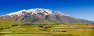 Mount Süphan  , the second highest Volcano in Turkey After Arat at 4058m. North Shore of Lake Van, Turkey 2 .<br /> <br /> If you prefer to buy from our ALAMY PHOTO LIBRARY  Collection visit : https://www.alamy.com/portfolio/paul-williams-funkystock/lakevanturkey.html<br /> <br /> Visit our TURKEY PHOTO COLLECTIONS for more photos to download or buy as wall art prints https://funkystock.photoshelter.com/gallery-collection/3f-Pictures-of-Turkey-Turkey-Photos-Images-Fotos/C0000U.hJWkZxAbg