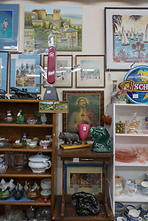 A thrift store in Las Vegas, New Mexico