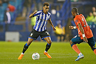 Jacob Murphy of Sheffield Wednesday  during the EFL Cup match between Sheffield Wednesday and Everton at Hillsborough, Sheffield, England on 24 September 2019.