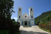 Father Laval's Cathedral Rikitea, Mangareva, Gambier Islands, French Polynesia<br />