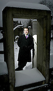 Julian Armour of the Ottawa Chamber Music Society is seen at Strathcona park in Ottawa on Thurdsday, Jan 5, 2006..(Ottawa Sun By Sean Kilpatrick)