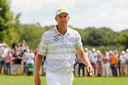 26.06.2014, Golf Club Gut Laerchenhof, Pulheim, GER, BNW International Golf Open, im Bild Marcel Siem (GER) auf dem Green // during the International BMW Golf Open at the Golf Club Gut Laerchenhof in Pulheim, Germany on 2014/06/26. EXPA Pictures © 2014, PhotoCredit: EXPA/ Eibner-Pressefoto/ Kolbert<br /> <br /> *****ATTENTION - OUT of GER*****