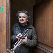 Piccolo Teatro Grassi, Milano, Italia, 6 Aprile 2021. Raffaele Kohler, trombettista.