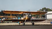 Stearman Kaydet at Oregon Aviation Historical Society.