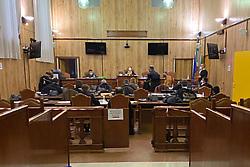INTERROGATO FABIO GHESINI<br /> UDIENZA PROCESSO INCENDIO POLIGONO PORTOMAGGIORE IN TRIBUNALE A FERRARA