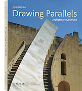 "Book cover of ""Drawing Parallels: Architecture Observed"" by Quintin Lake"