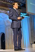 Koninklijke familie bij uitreiking Prins Claus Prijs in het Paleis op de Dam, Amsterdam. ///// Royal family attending the Prince Claus Award ceremony in the Royal Palace, Amsterdam.<br /> <br /> Op de foto / On the Photo:   Erevoorzitter prins Constantijn tijdens de uitreiking van de Prins Claus Prijs 2012. De prins nam de honneurs waar voor zijn broer Friso, die nog in coma ligt. <br /> <br /> Honorary Chairman Prince Constantine during the presentation of the Prince Claus Award 2012. The prince took the honors for his brother Friso, who is in a coma.
