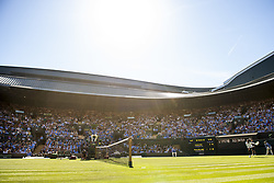 July 2, 2018 - London, United Kingdom - 180702 General view of the court 1 during the match between Serena Williams of USA and Arantxa Rus of Netherlands during day 1 of Wimbledon on July 2, 2018 in London..Photo: Ludvig Thunman / BILDBYRN / kod LT / 35496 (Credit Image: © Ludvig Thunman/Bildbyran via ZUMA Press)