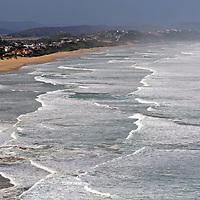 Africa, South Africa, Wilderness. View of Wilderness Beach along Garden Route, South Africa.