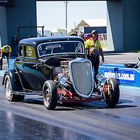Shot at the Cruzin' Magazine Nostalgia Drags at the Perth Motorplex