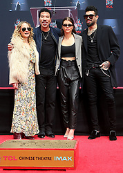 07 March 2018 - Hollywood, California - Nicole Richie, Lionel Richie, Sofia Richie and Miles Richie. Lionel Richie Hand and Footprint Ceremony held at TCL Chinese Theatre. Photo Credit: F. Sadou/AdMedia
