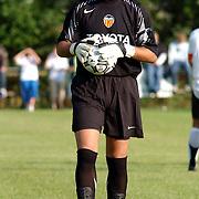 NLD/Buitenpost/20050707 - Oefenwedstrijd Cambuur - Valencia, doelman Andrés Palop Cervera