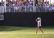 Lexi Thompson on 18 at the conclusion Sundays Final Round of The Yokohama Tire LPGA Classic at The RTJ Golf Trail in Prattville, Alabama.(photo credit : kenneth e. dennis/kendennisphoto.com)