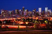 Denver Skyline @ Sunset