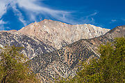 White Mountains seen from Benton, California at US6