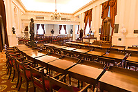 Old House Chamber, Virginia State Capitol, Richmond, Virginia USA