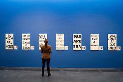 work by Sebastian Errazuriz at Kiasma contemporary art museum in Helsinki Finland
