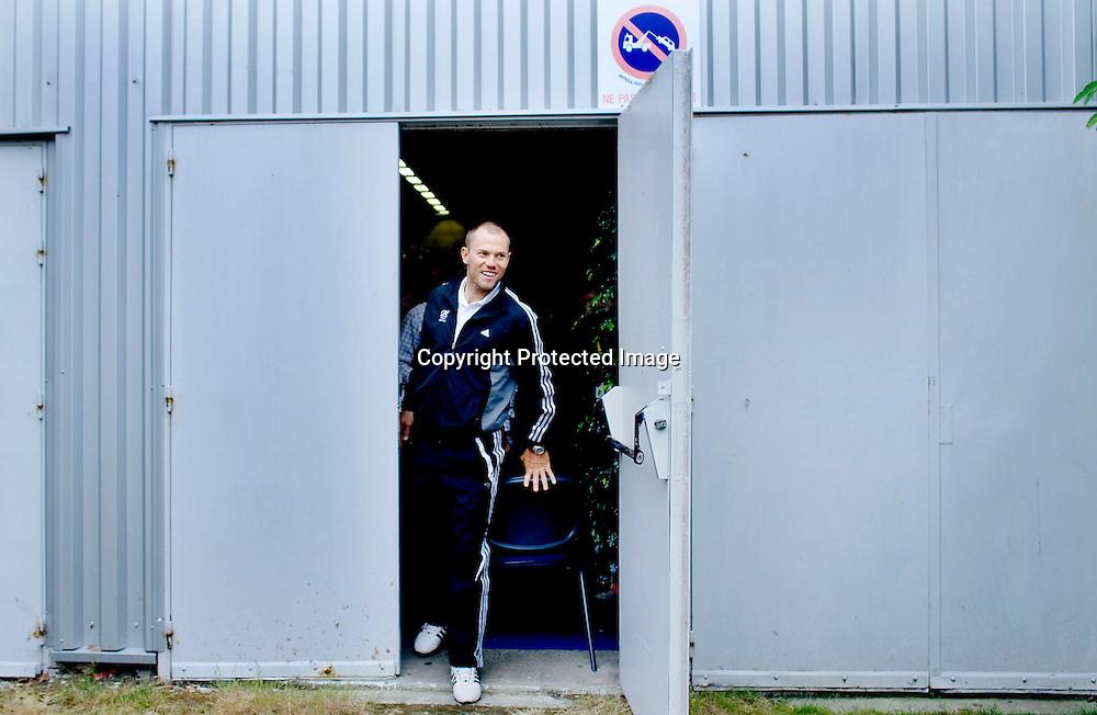 Brest., Frankrike, 20080604:  Thor Hushovd dagen før Tour de France starter i Brest...Foto: Daniel Sannum Lauten/Dagbladet
