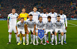 KRC Genk team group ahead of the match
