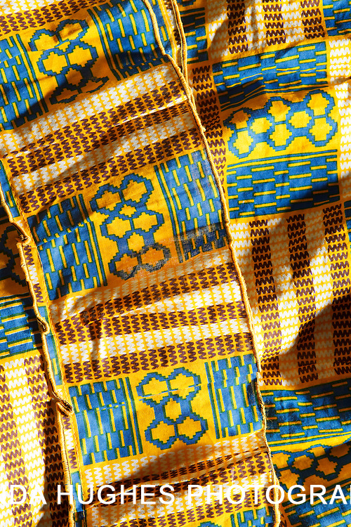 West African Fabric in Accra Ghana