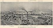 German naval base and Royal Dockyards, Kiel. From Das Buch der Erfindungen Gewerbe und Industrien', Leipzig, c1900.