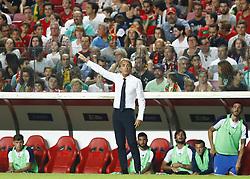 September 10, 2018 - Lisbon, Italy - Portugal v Italy - UEFA Nations League.Italy coach Roberto Mancini at Estadio da Luz in Lisbon, Portugal on September 10, 2018. (Credit Image: © Matteo Ciambelli/NurPhoto/ZUMA Press)