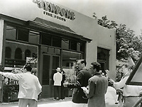 1936 Vendome Restaurant on Sunset Blvd.