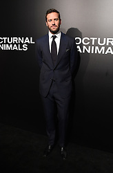 The cast of 'Nocturnal Animals' attend a special screening of the Tom Ford film in Los Angeles. 11 Nov 2016 Pictured: Armie Hammer. Photo credit: American Foto Features / MEGA TheMegaAgency.com +1 888 505 6342