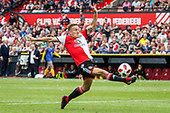 Feyenoord player Jens Toornstra during the Dutch football Eredivisie match between Feyenoord and Excelsior at De Kuip Stadium in Rotterdam, on August 19th, 2018 - Photo Dennis Wielders / Pro Shots / ProSportsImages / DPPI