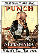 Punch Almanack 1908 (front cover)
