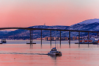Tromso Bridge, Tromso, Arctic, Northern Norway.