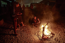 October 23, 2016 - Calais, France - Evacuation of the refugge camp The Jungle in Calais, France, will start monday 24 Oct 2016. 3000 refugees will be sent on to outher locations by the French police (Credit Image: © AftonbladetIBL via ZUMA Wire)