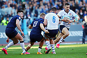 Mattia Bellini of Italy in action during the Guinness Six Nations 2020, rugby union match between Italy and Scotland, Saturday Feb. 22, 2020,in Rome, Italy. (Federico Proietti/ESPA-Images-Image of Sport)