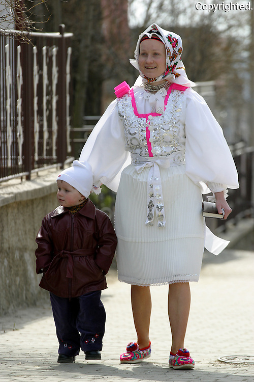 Traditions in mountain village Lendak are being preserved through generations. Easter is one of the times when these traditions become more visible.