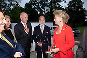 PRINCE MICHAEL OF KENT; PRINCESS MICHAEL OF KEN, Alexandra Shulman, Editor of Vogue & Phil Popham, Managing Director of Land Rover<br /> host the 40th Anniversary of Range Rover. The Orangery at Kensington Palace. London. 1 July 2010. -DO NOT ARCHIVE-© Copyright Photograph by Dafydd Jones. 248 Clapham Rd. London SW9 0PZ. Tel 0207 820 0771. www.dafjones.com.