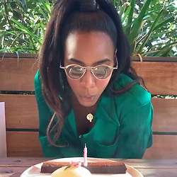 """Kelly Rowland releases a photo on Instagram with the following caption: """"My Birthday Wish Is?.....\n(And if you don\u2019t have anything nice to say.......S-T-F@ck-U)(Yup, I said it)"""". Photo Credit: Instagram *** No USA Distribution *** For Editorial Use Only *** Not to be Published in Books or Photo Books ***  Please note: Fees charged by the agency are for the agency's services only, and do not, nor are they intended to, convey to the user any ownership of Copyright or License in the material. The agency does not claim any ownership including but not limited to Copyright or License in the attached material. By publishing this material you expressly agree to indemnify and to hold the agency and its directors, shareholders and employees harmless from any loss, claims, damages, demands, expenses (including legal fees), or any causes of action or allegation against the agency arising out of or connected in any way with publication of the material."""