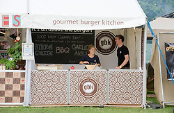 © licensed to London News Pictures. LONDON. UK.  02/07/11. Day two of Jamie Olivers The Big Feastival today (02/07/2011), a three day event featuring food from some of the country's top chefs along with live music. The Big Feastival takes place on Clapham Common on the 1st, 2nd and 3rd July. All profits from the event will be shared between The Jamie Oliver Foundation and The Prince's Trust.  Photo Credit Ben Cawthra/LNP
