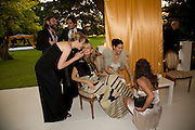 MATT COLLISHAW, BARRY REIGATE, POLLY MORGAN, KIM HERSOV AND JESSICA DE ROTHSCHILD, Raisa Gorbachev Foundation Party, at the Stud House, Hampton Court Palace on June 7, 2008 in Richmond upon Thames, London,Event hosted by Geordie Greig and is in aid of the Raisa Gorbachev Foundation - an international fund fighting child cancer.  7 June 2008.  *** Local Caption *** -DO NOT ARCHIVE-© Copyright Photograph by Dafydd Jones. 248 Clapham Rd. London SW9 0PZ. Tel 0207 820 0771. www.dafjones.com.
