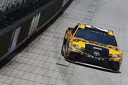April 13, 2018 - Bristol, Tennessee, United States of America - April 13, 2018 - Bristol, Tennessee, USA: Erik Jones (20) bring his racecar down the backstretch during opening practice for the Food City 500 at Bristol Motor Speedway in Bristol, Tennessee. (Credit Image: © Chris Owens Asp Inc/ASP via ZUMA Wire)