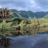 Hawaii, Molokai, entry to Halawa Valley