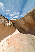 Image of The Nautilus, an eroded rock formation on the Paria Plateau of Grand Staircase-Escalante National Monument between Page, Arizona and Kanab, Utah.